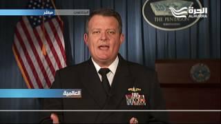 المتحدث باسم وزارة الدفاع الأميركية جيف ديفيس يتحدث للحرة عن ابرز تطورات الازمة السورية