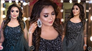 Glam Engagement Makeup Tutorial - HD AirBrush Makeup | Step By Step | By Mayuri Sinha Sarkar