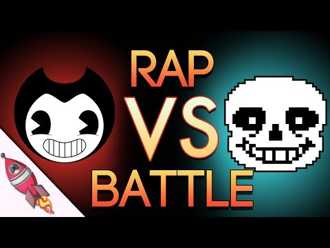 Bendy and the Ink Machine VS Undertale Rap Battle | Bendy vs Sans | Rockit Gaming
