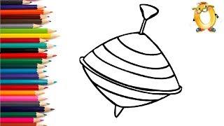 Раскраска для детей ЮЛА. Мультик - Раскраска. Учим цвета II ОБУЧАШКА ТВ