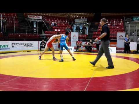 2016 Canadian Junior Championships: 74 kg Ty Bridgwater vs. Noah Erskine