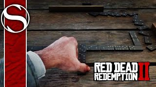 How to Win at Dominoes (All Fives) in Red Dead Redemption 2 (TUTORIAL)