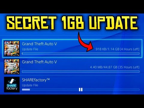 GTA Online - 1GB UPDATE TODAY!? Why Did Rockstar Release an Update?