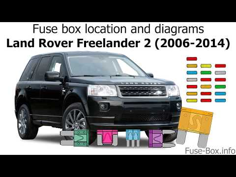 Fuse box location and diagrams: Land Rover Freelander 2 (2006-2014) -  YouTubeYouTube
