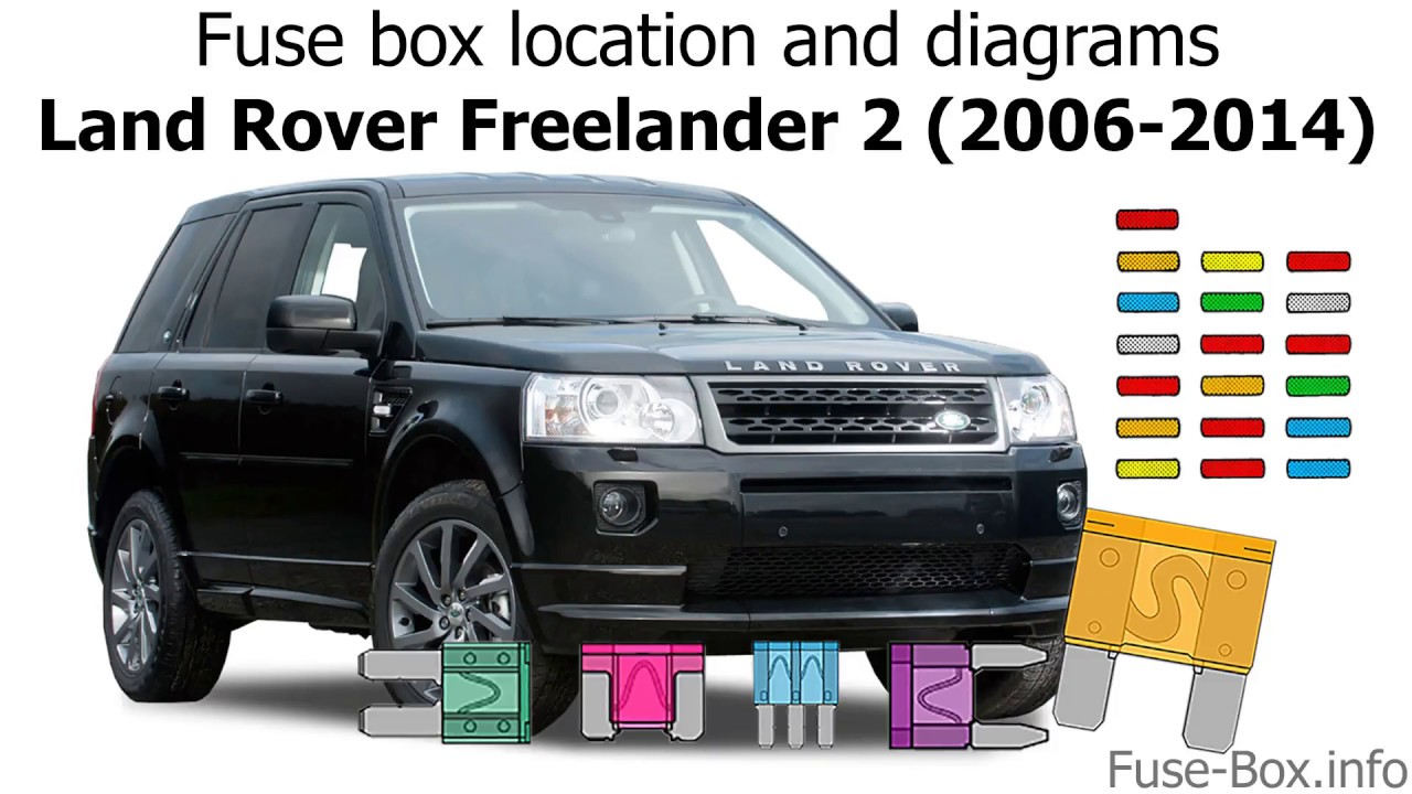 fuse box location and diagrams: land rover freelander 2 (2006-2014)