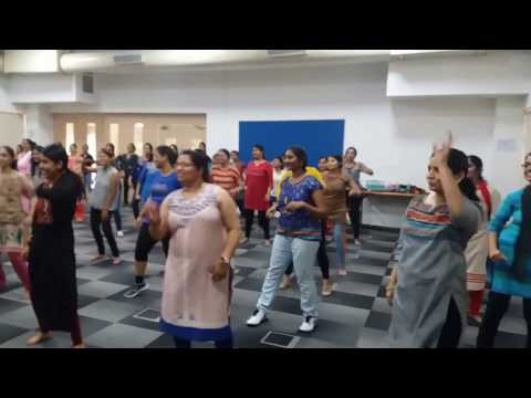 Women's Day Celebrations at Sonata Software -  Zumba workout session by Zin Julie