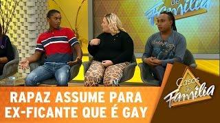 Casos de Família (15/06/15) - Rapaz assume para ex-ficante que é gay!