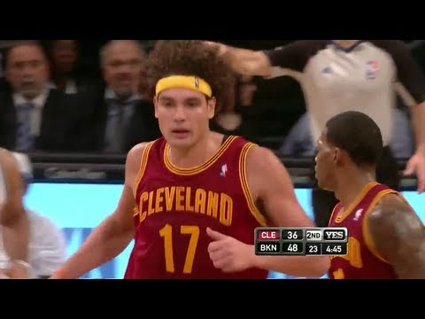 Anderson Varejao career high 35 Pts & 18 Reb vs nets 13.11.12 HD