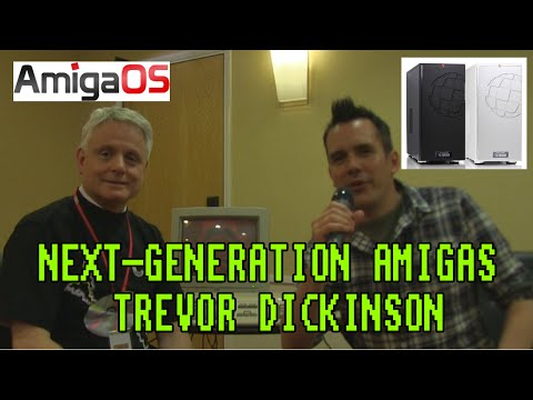 The Amiga in 2015 and Beyond - Trevor Dickinson A-Eon Interview