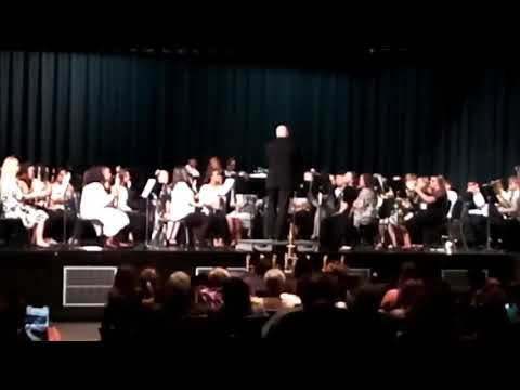 Fieldale Collinsville middle school 8th grade band 2019