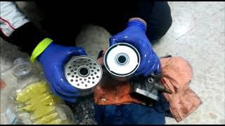 cambio filtro gasoil reposicionado citroen saxo 1 5d