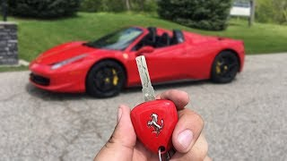 A Day With A Red Ferrari 458 Spider - POV Drive Part 1