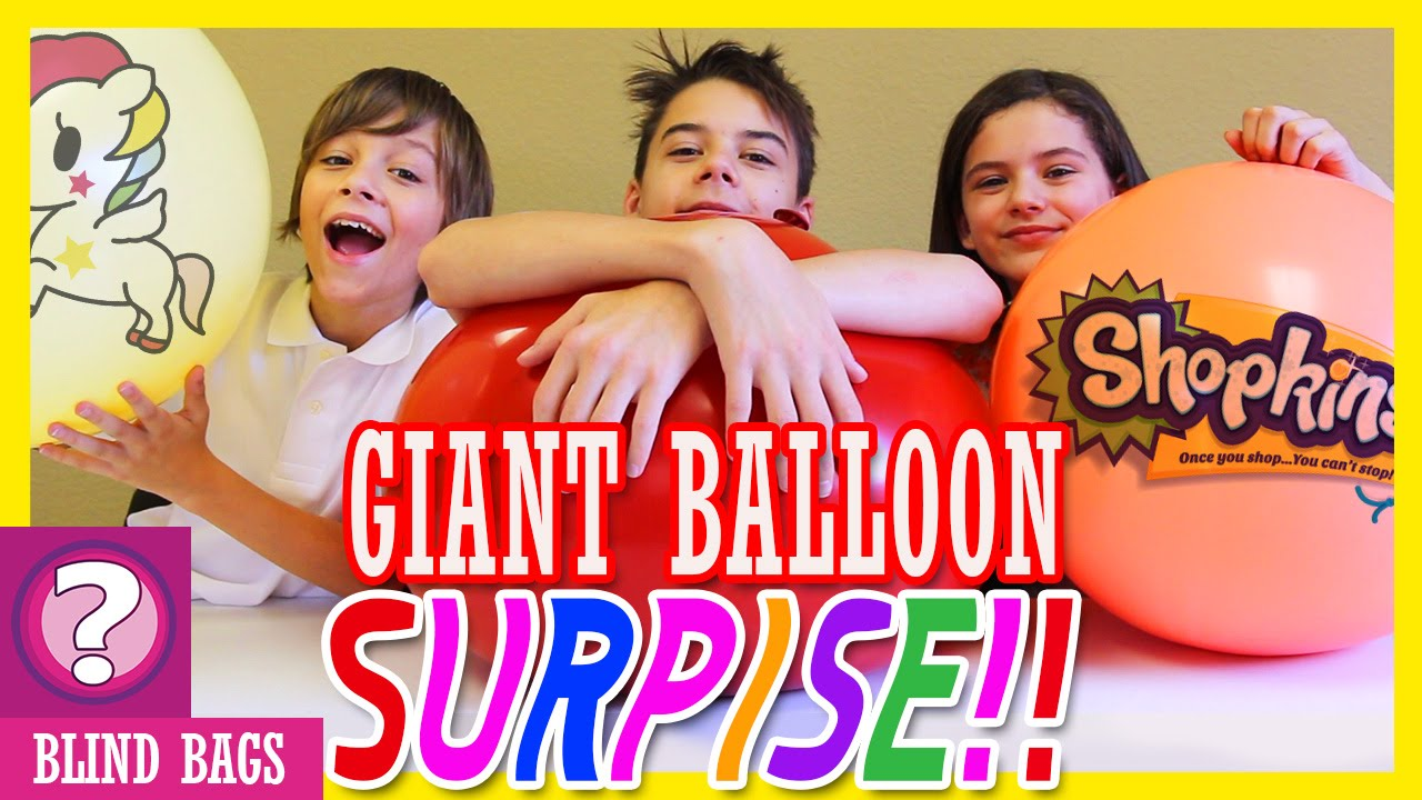 Giant Balloon Surprise Blind Bag Ep23 Minecraft Tok