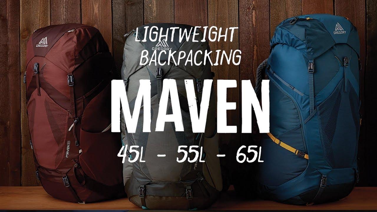Maven Lightweight Backpacking Women S Gregory Packs Youtube
