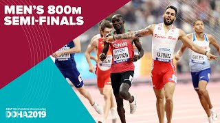 Mens 800m Semi-Finals  World Athletics Championships Doha 2019