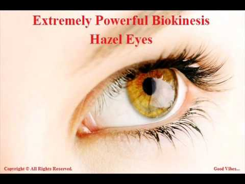 Extremely Powerful Biokinesis 3 Hour  Get Hazel Eyes Subliminal  Change Your Eye Color To Hazel