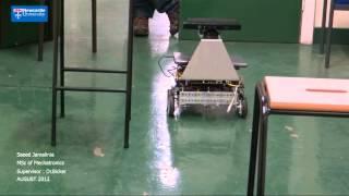 SJ-90 Vision-based Autonomous Navigation mobile robot with microsoft Kinect