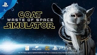 Repeat youtube video Goat Simulator: Waste of Space - Announce Trailer | PS4