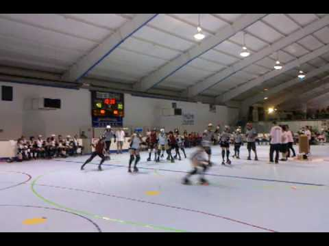 Jamming by the Port Authorities in Game 1 at the ECE 2010.