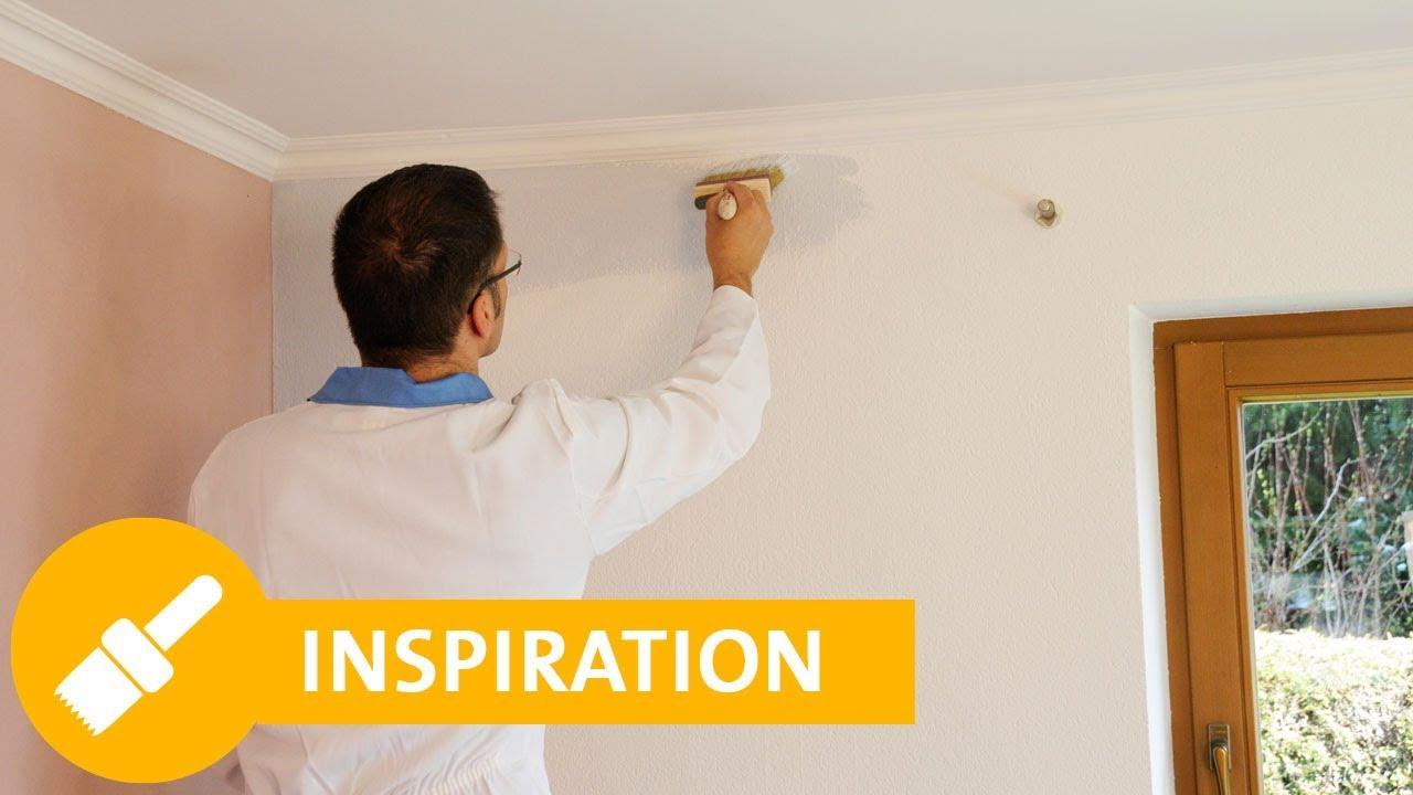 Wohnzimmer streichen Welche Farbe ist die richtige Ideen  Tipps  YouTube