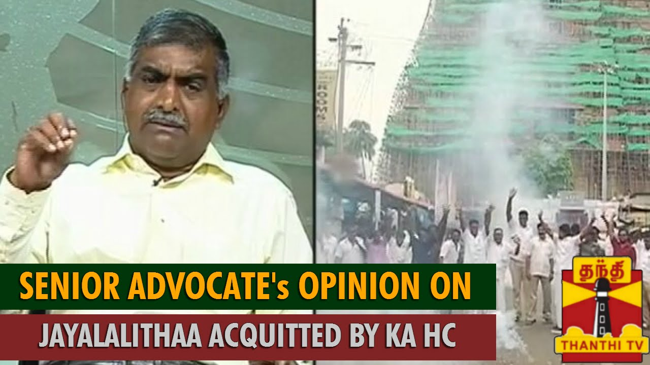 Senior advocate tamilmani 39 s opinion on jayalalithaa for R s bains advocate