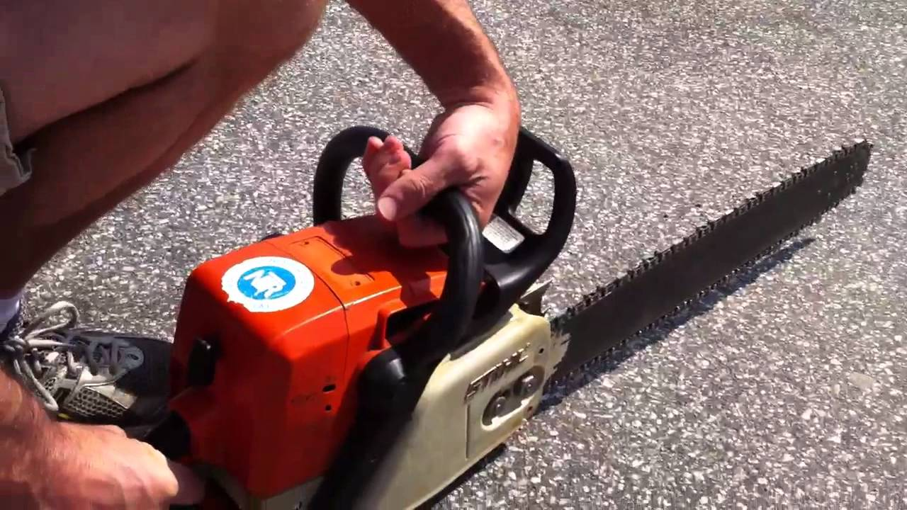 Chainsaw Troubleshooting