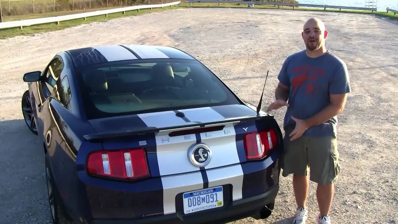 2010 Ford Mustang Gt500 Review Youtube