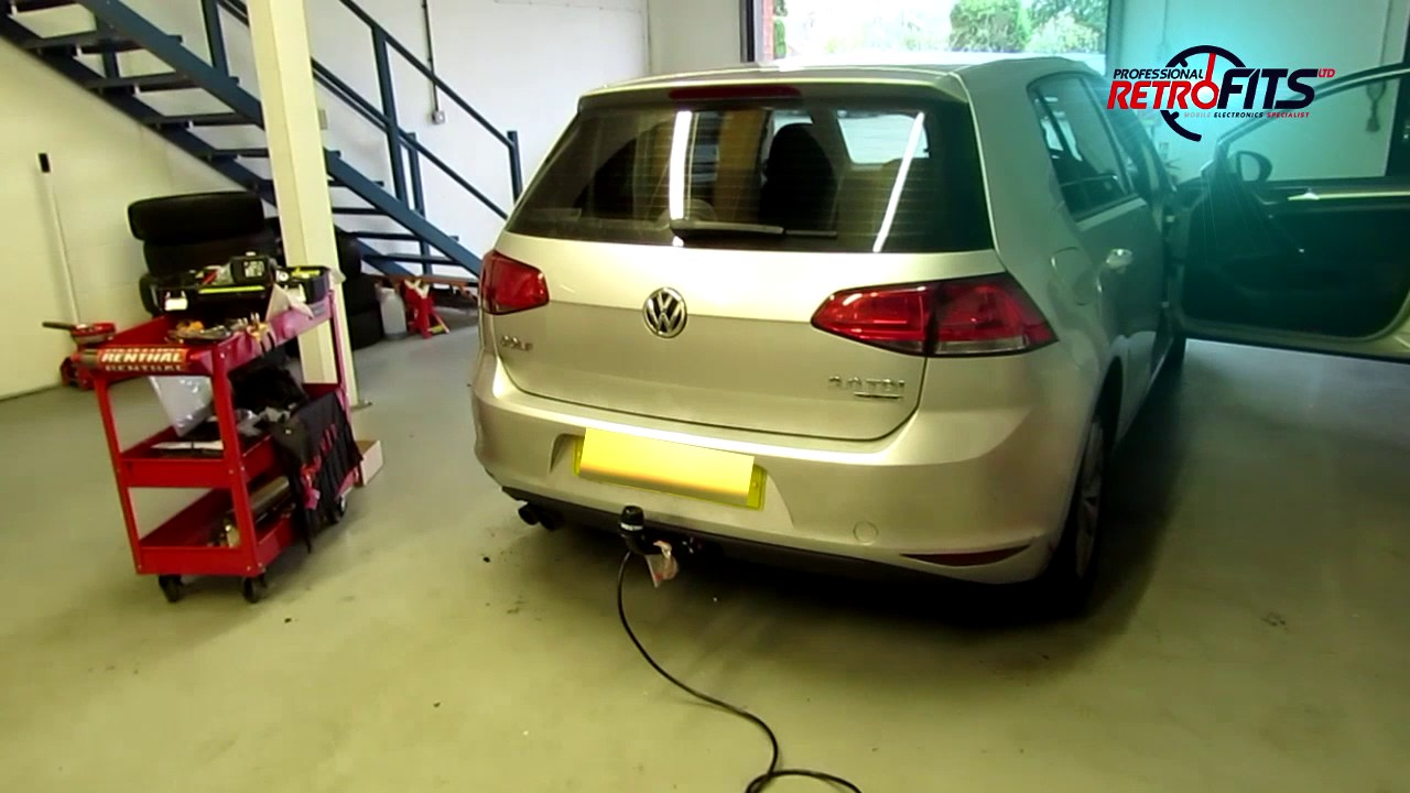 Vw Golf Mk7 Westfalia Detachable Towbar And 13 Pin Canbus
