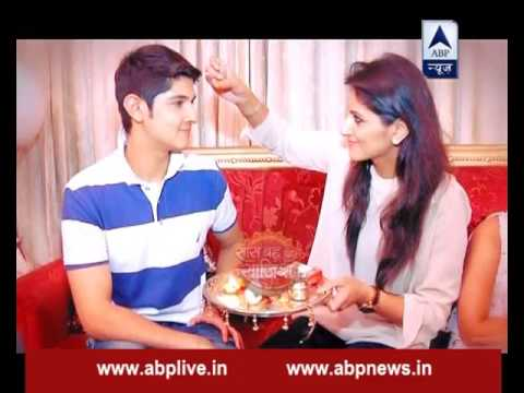 Rohan Mehra aka Naksh celebrates Raksha Bandhan in Amritsar