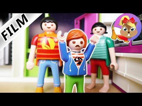 Playmobil Film Polski - DZIECIAK WŁAMUJE SIĘ NOCĄ! ZNOWU DUŻY JULIAN! Serial dla dzieci