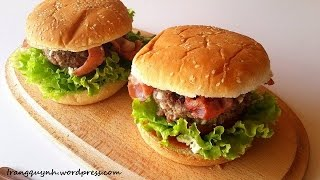 Recipe: Feta Stuffed Burgers