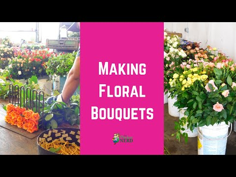 How Flowers Become Bouquets