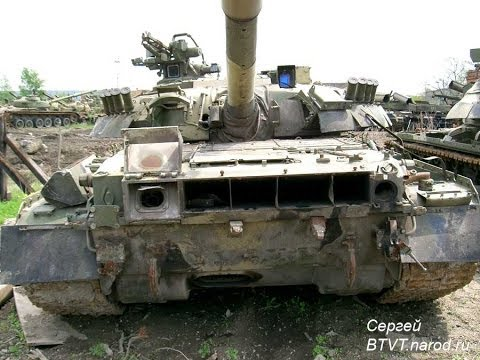 Основной боевой танк Т-80УД (Детализация и фото опытных образцев)