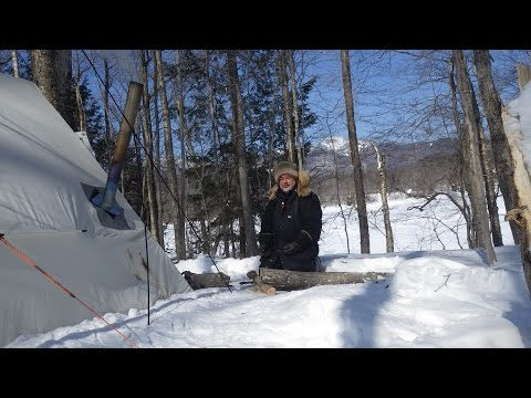 Siberian Experss Solo Camping Trip