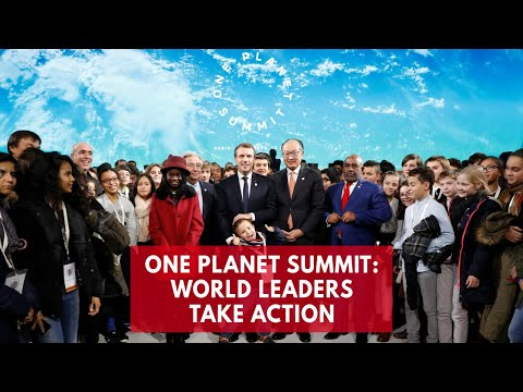 World leaders gather in Paris for climate summit except Trump