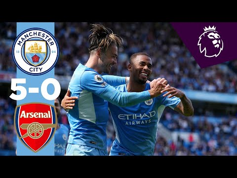 HIGHLIGHTS | MAN CITY 5-0 ARSENAL | Torres, Jesus, Rodri, Gundogan