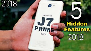 5 Hidden Features Of Samsung Galaxy J7 Prime !! Wow Amazing