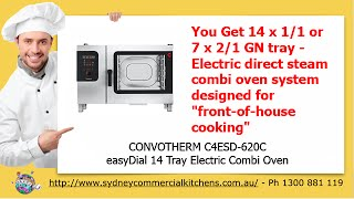 Convotherm easyDial Combi Ovens(http://www.sydneycommercialkitchens.com.au/catering-equipment/combi-ovens/Convotherm/easyDial The new Convotherm 4 combi oven design is ideal for ..., 2015-02-24T04:43:16.000Z)