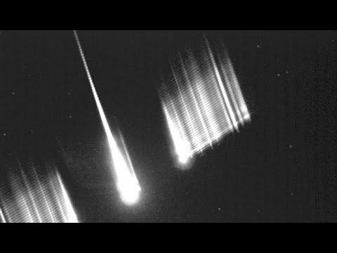 Cometary meteor event on Nov.11 at 4:11 local time//Bola de fuego del 11Nov. a las 4:11 horas
