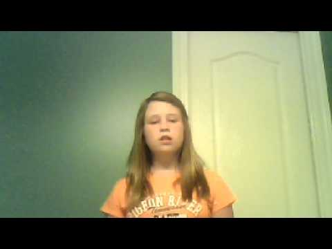 me singing turning tables by lilly bright.
