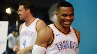 Russell Westbrook avoids talking about contract extension   2017 NBA Media Day   ESPN