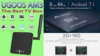 UGOOS AM3 Один из лучших TV Box Надёжный холодный и стабильный Рекомендую Обзор