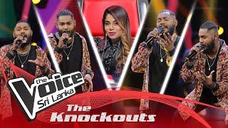 Nuwanga Samarasinghe | Manike Mama Aye Gedara Enawa (මැණිකෙ මම) |The Knockouts | The Voice Sri Lanka Thumbnail