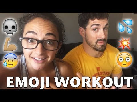 Download Youtube: WE TRIED THE EMOJI WORKOUT 💪🏽 💥 💀