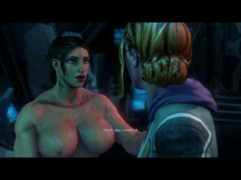 Saints Row IV: Female Badass - Cutscenes