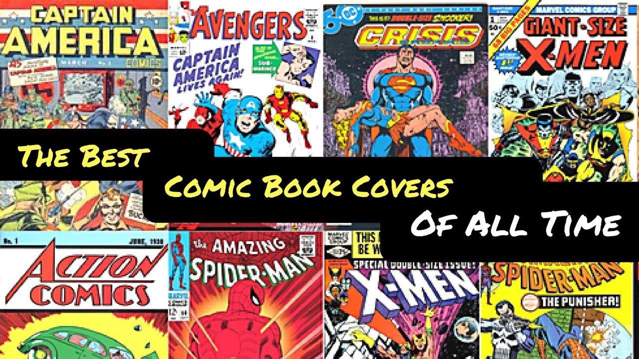 The Best Comic Book Covers of All Time