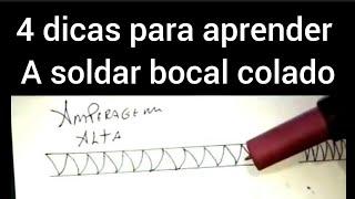 CURSO DE SOLDA APRENDA A SOLDAR BOCAL COLADO COM A SOLDA TIG