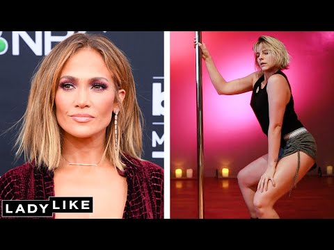 I Learn Jennifer Lopez's Hustlers Routine In 24 Hours • Ladylike