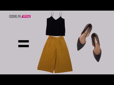 10 Ways To Mix And Match 10 Wardrobe Essentials