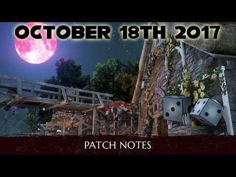 BDO Patch Notes Weekly | October 18th 2017 | Black Desert Online | Rinku Talks